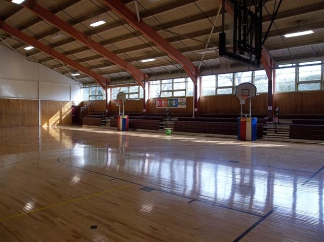 Rec Floor & Bleachers
